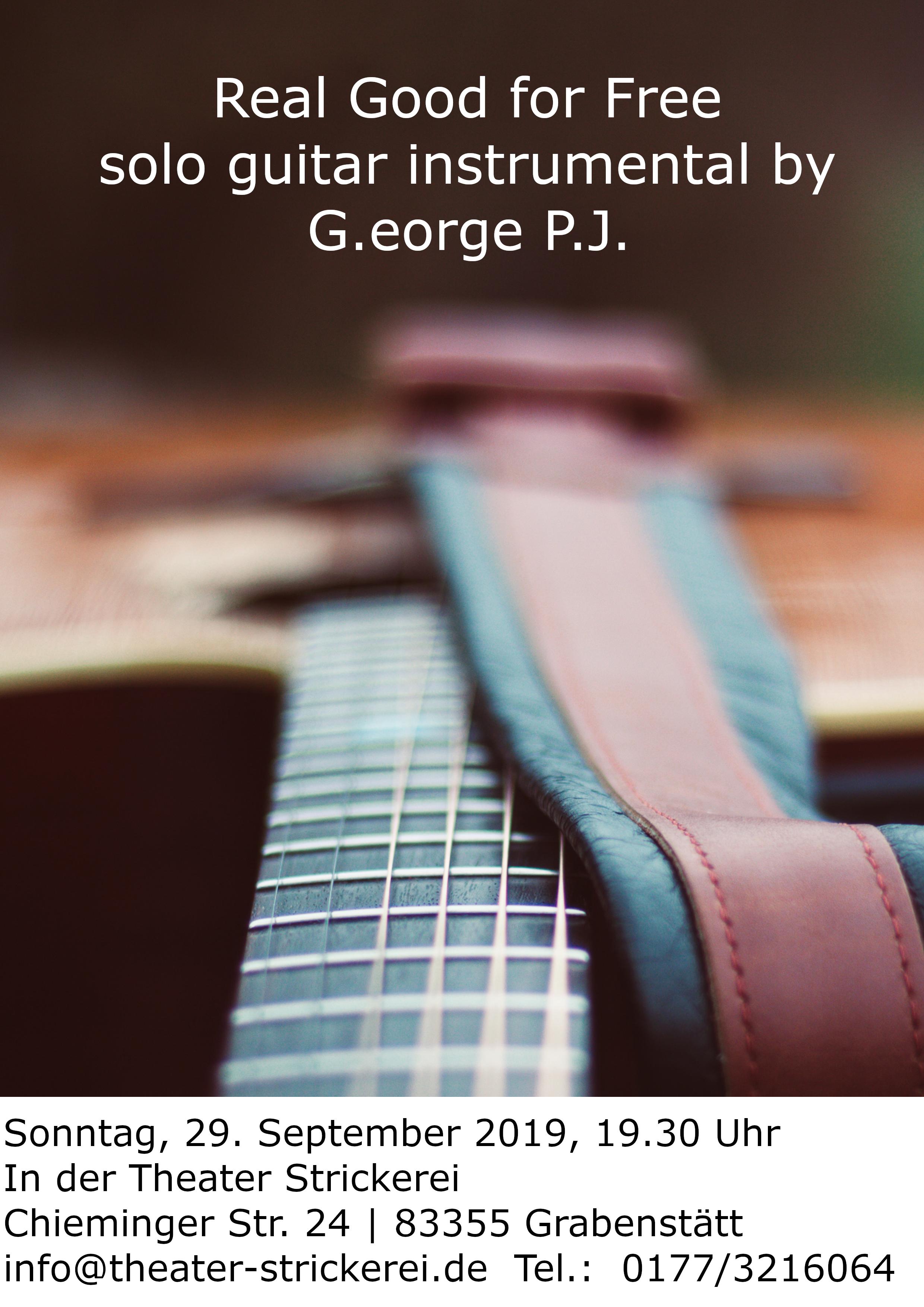 Barkonzert mit George