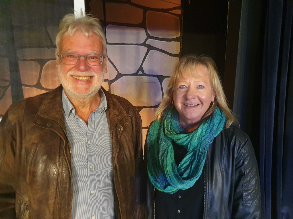 Dieter Bender (links) und Christine Pauli (rechts) (Kassenprüfer)